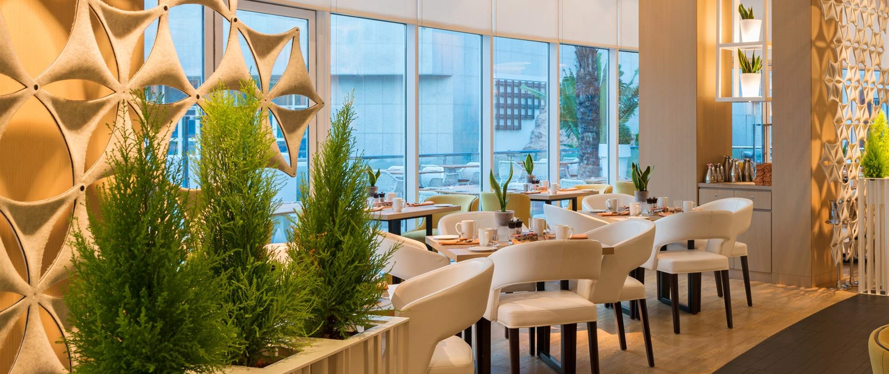 Experience one of the best all day dining restaurants in all of Abu Dhabi