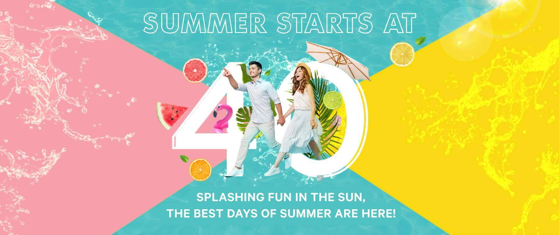 Summer starts at 40 at Le Royal Meridien Abu Dhabi